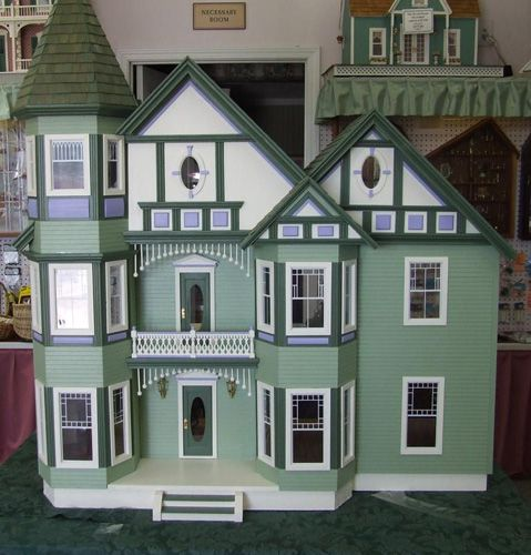 17 Best Images About D7 Painted Lady Dollhouses On
