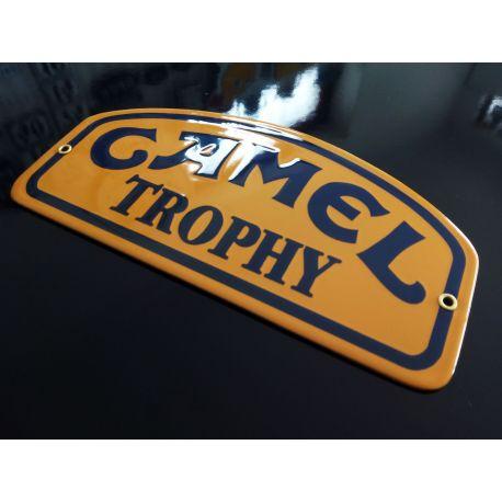 Placa Esmaltada Camel Trophy