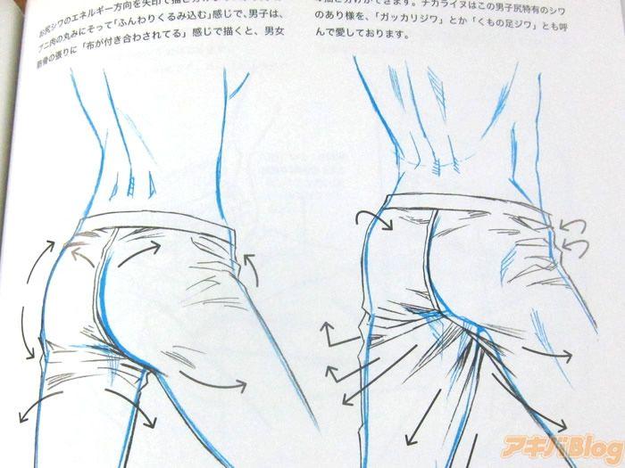 [画像]:「着るお尻・脱ぐお尻」 男の尻特有のシワについて