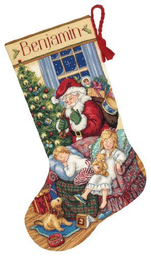 Dimensions Needlecrafts Gold Counted Cross Stitch Sweet Dreams Stocking