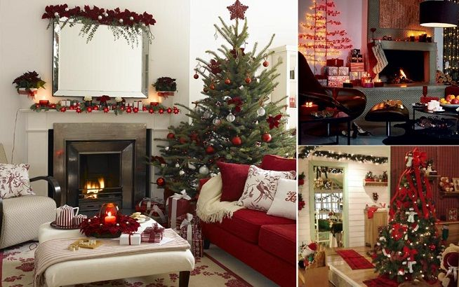 Decoracion navide a navidad pinterest - Decoracion navidena de casas ...