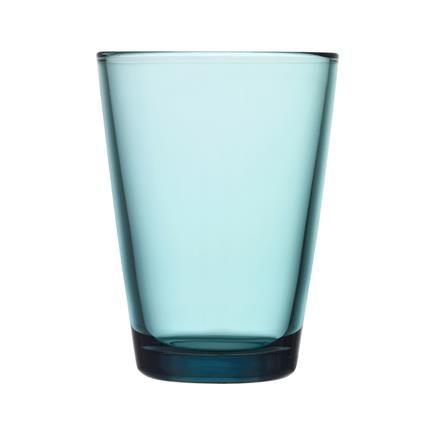 Kartio glas, havblå 80 kr