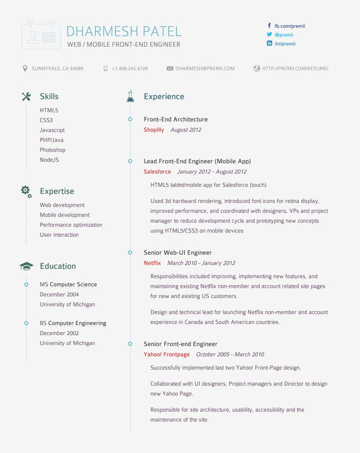 95 best Interesting Resumes images on Pinterest Resume templates - numeracy coach sample resume