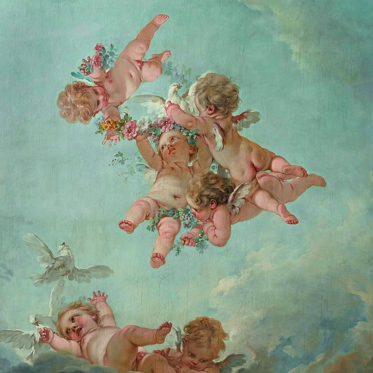 François Boucher (1703-1770)    The Four Seasons: Spring    National Museum of…