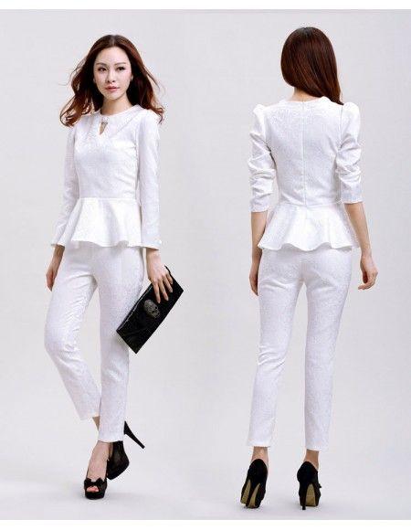 tailleur pantalon fashion