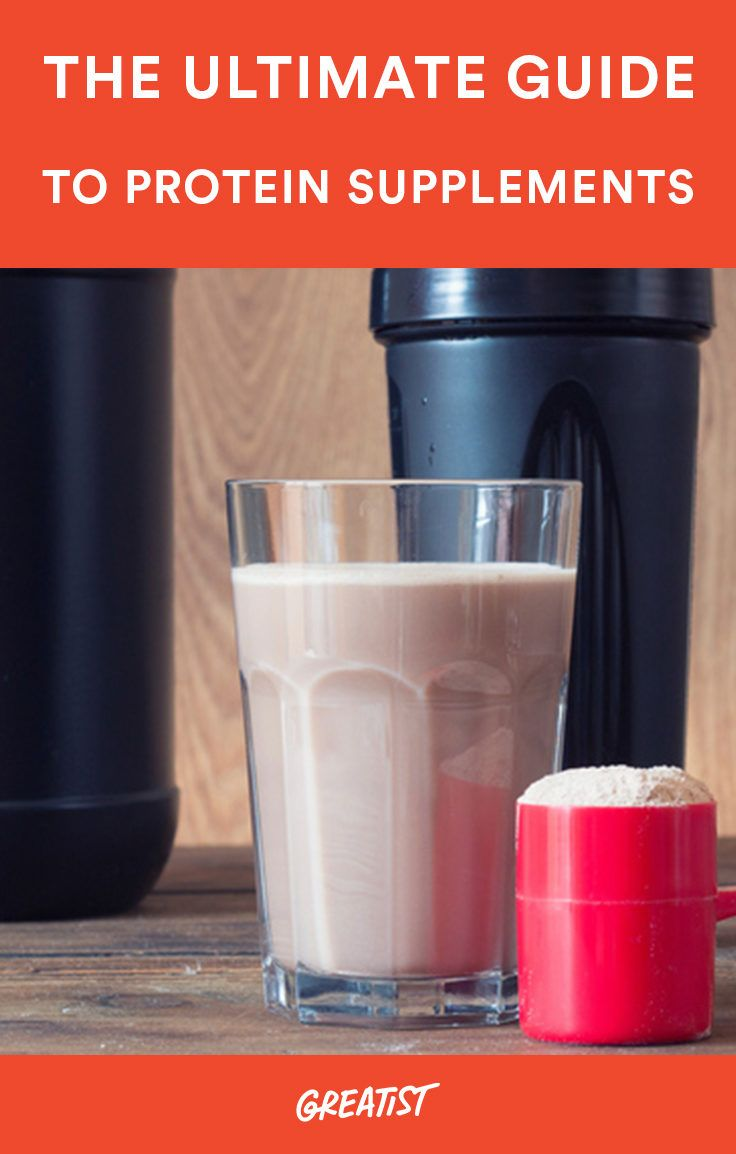 <p>Choosing a protein powder isn't easy, so we created this an all-inclusive guide to help you pick the right one for you.</p> #protein #supplements https://greatist.com/fitness/protein-supplement-nutrition-guide