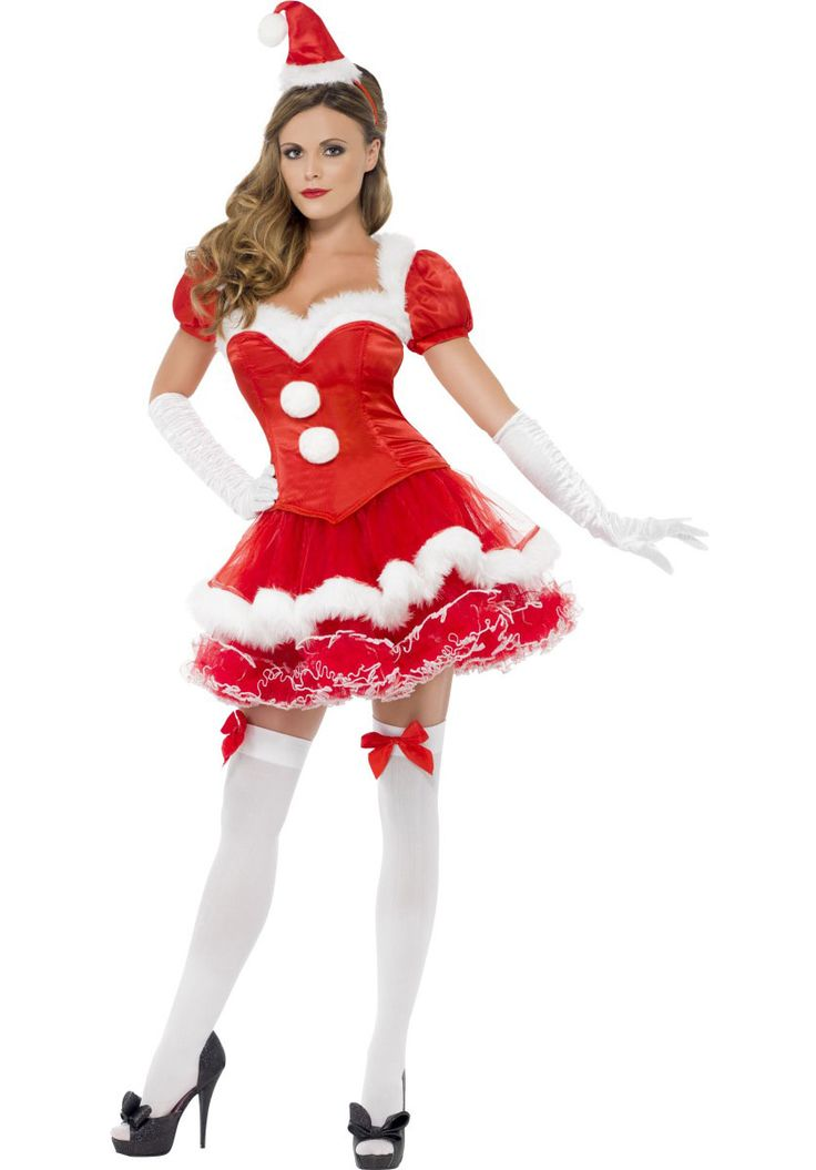 Miss Santa Costume With Muff Handige Tips Christmas