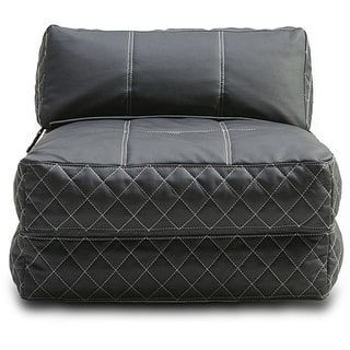 Austin Black Bean Bag Chair Bed