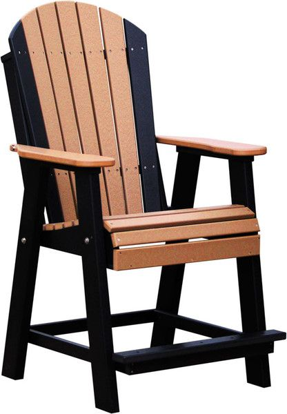 Luxcraft Recycled Plastic Adirondack Balcony Chair My