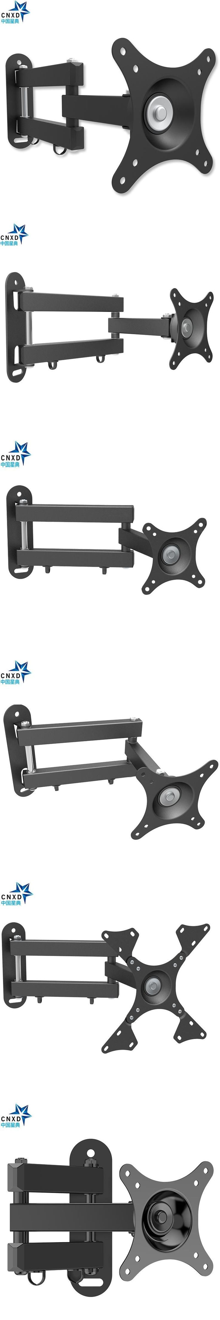 CNXD Universal LCD LED TV PC Monitor Wall Mount Bracket Tilt Swivel Plasma TV Wall Mount VESA 200*200mm