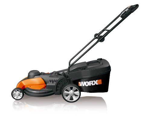 WORX WG708 17-Inch Electric Mower, 13-Amp - http://bestlawnmower.bgmao.com/worx-wg708-17-inch-electric-mower-13-amp