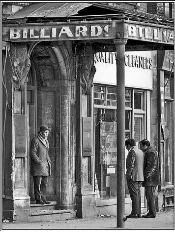 A Billiard Hall near Aston Cross Birmingham UK. Great photo.