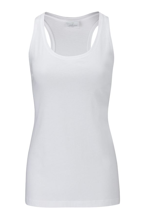 Easy Racerback - Diamond White