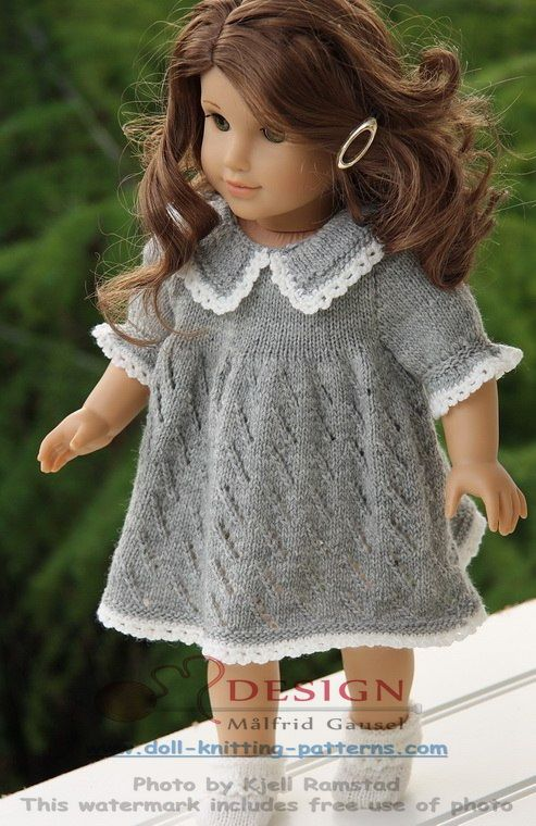 Doll knitting patterns for American girl