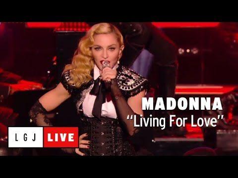 #Madonna #RebelHeart #LivingForLove Madonna - Living For Love - Live du Grand Journal