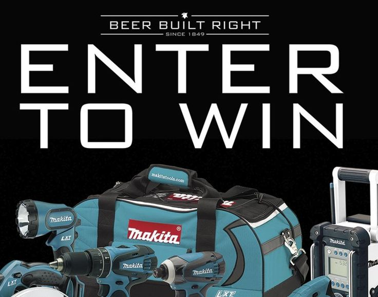 One Grand Prize is available, winner will receive one Makita 18V LXT Lithium-Ion 7-Pc. Combo Kit Model XT702 worth $599.00. Limit one entry per person, per day.