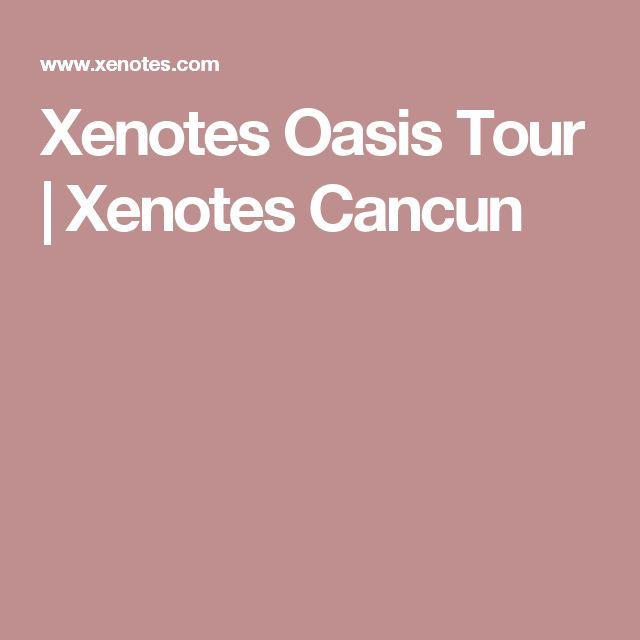 Xenotes Oasis Tour | Xenotes Cancun