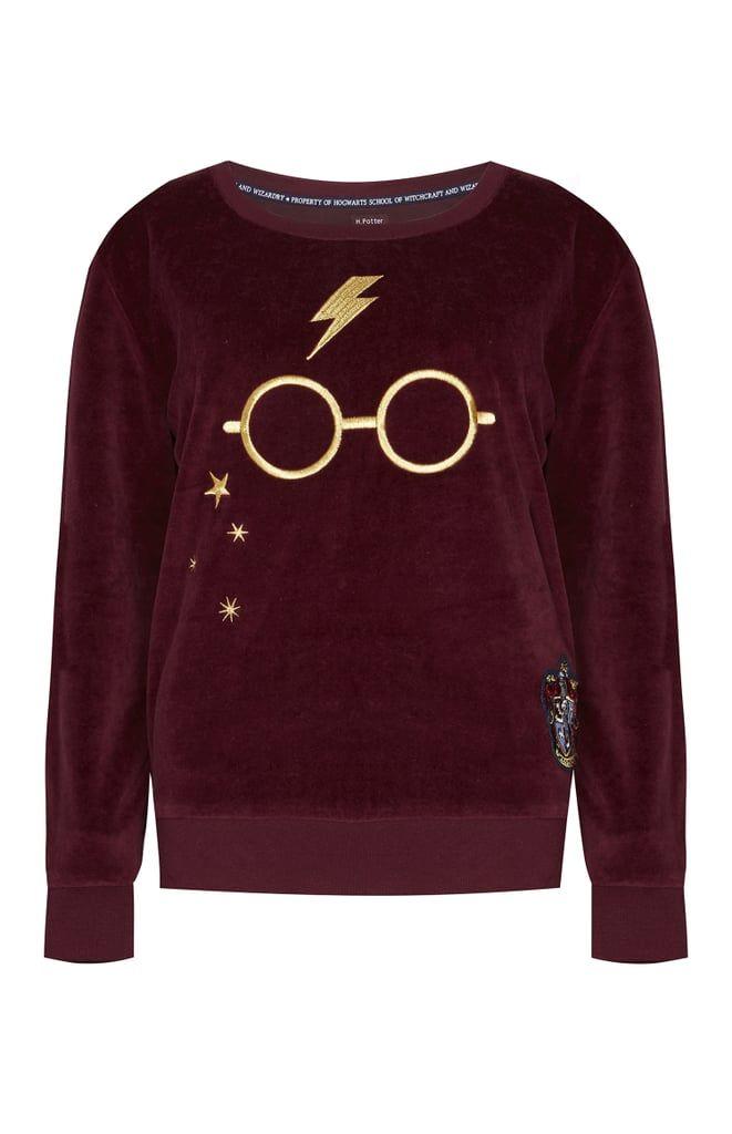 Harry Potter Velour Pullover 14 Harry Potter Hoodie Harry Potter Outfits Harry Potter Shirts