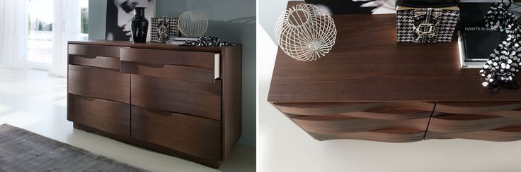 ONDA cabinet by Mobil Gam_ WOOD ON MOVE. Tognin Arredamenti authorized dealer