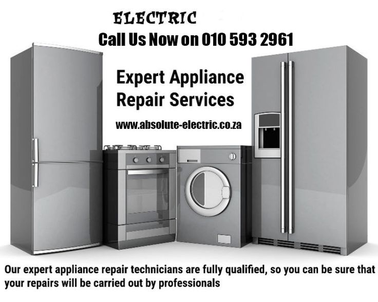 Fridge Freezer repairs with a warranty of 3 months, now in Johannesburg and Pretoria     Categories: Fridges, Freezer, Cold Room, Under Counter Bar Fridge     Call Us Now On 010 593 2961 or Request a free quote online at httpwww.absolute-electric.co.za/contact-electrician-emergency.html Please contact  Call Us Now On 010 593 2961 or Request a free Quote Online at http://www.absolute-electric.co.za/contact-electrician-emergency.html