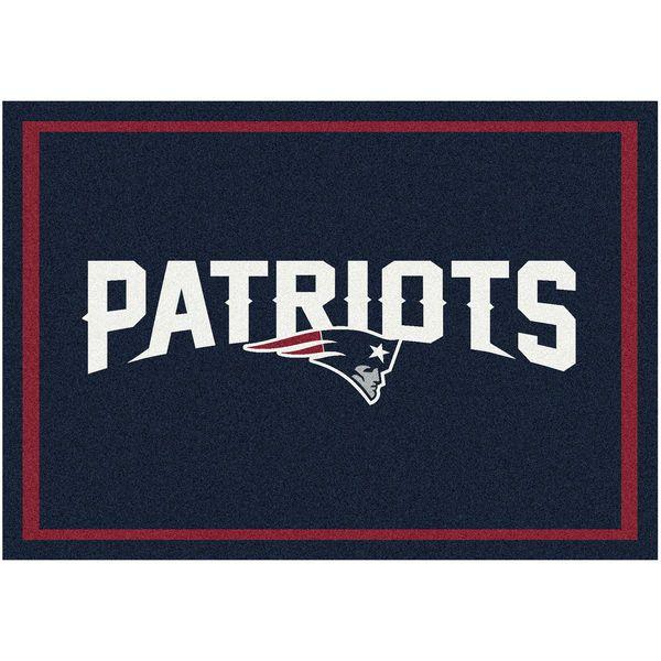 "New England Patriots 92"" x 129"" Spirit Rug - $449.99"