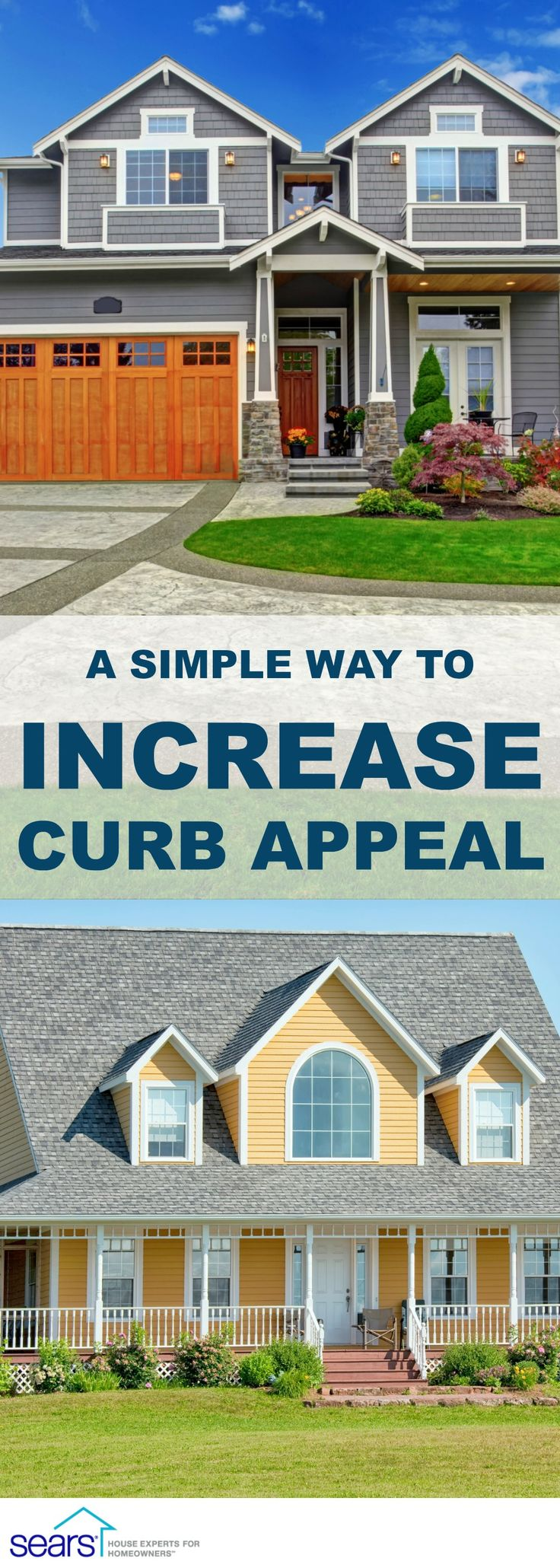When your home's exterior needs a makeover, siding is an easy and effective way to update it and increase curb appeal. New vinyl siding will give your home a fresh, clean look and can cut down on maintenance, plus you can recoup up to 70% of the costs.