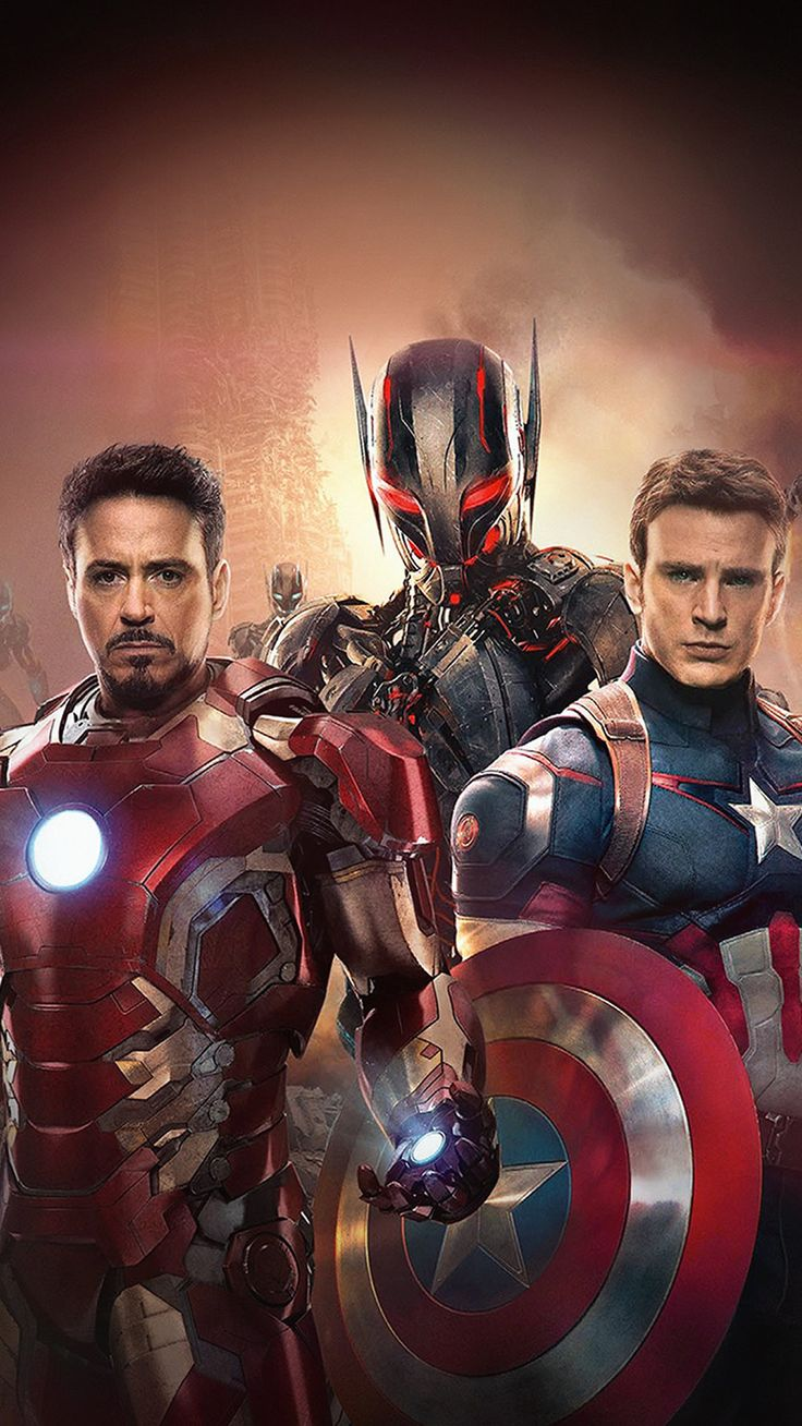 Avengers Poster Age Of Ultron Art Film iPhone 8 Wallpapers