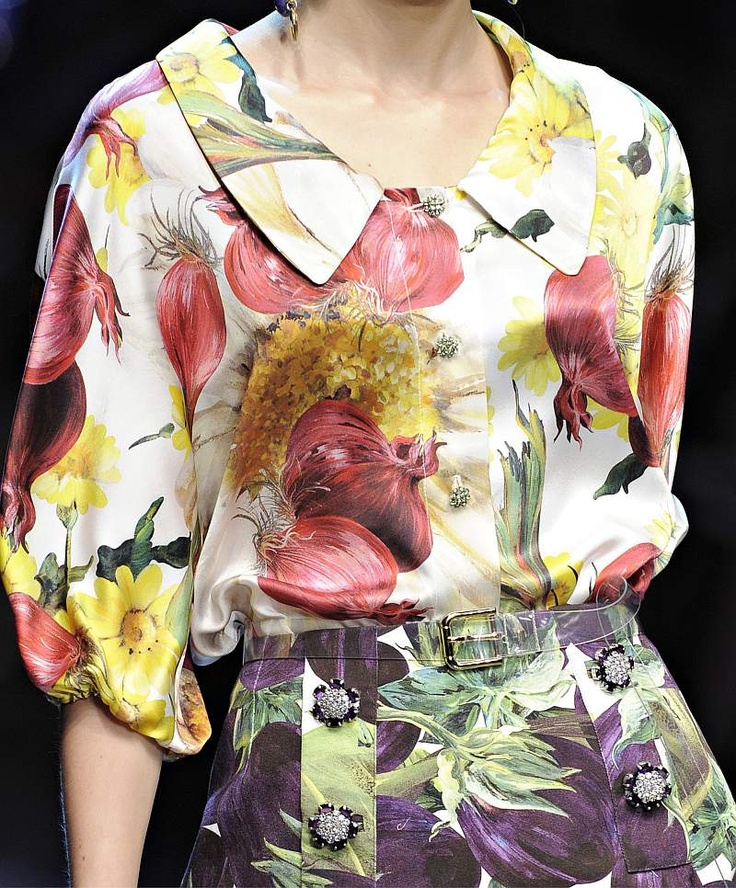 Dolce & Gabbana Spring Summer 2012 (With Images)