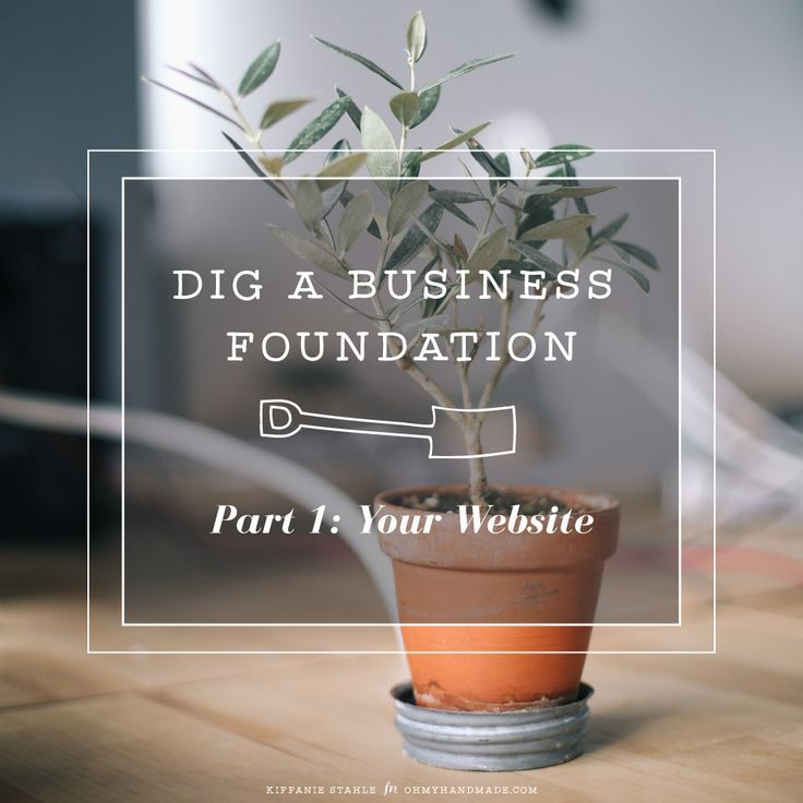 {Part 1} Dig a Business Foundation: Your Website (disclaimers, privacy policies, terms & conditions, affiliate links) on Oh My! Handmade