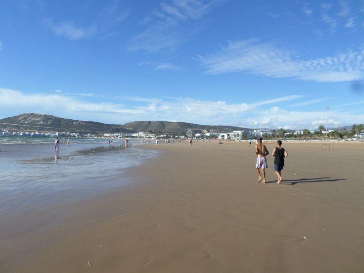 Agadir Beach Morocco, november 2015