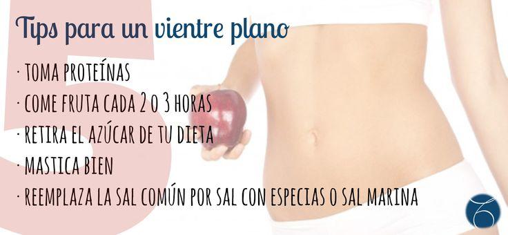 ¡5 TIPS para conseguir un Vientre Plano! #disfrutatuedad   #semujer   #belleza   #salud   #naturalbeauty http://www.mtmeler.com/category/blog/