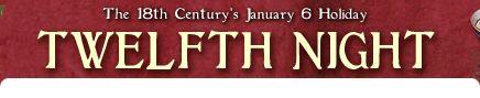 Celebrating the twelve days of Christmas and Epiphany.