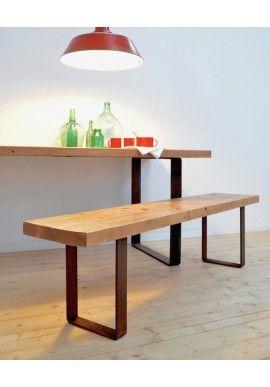 Las 25 mejores ideas sobre bancos de madera en pinterest y - Imagenes de bancos de madera ...