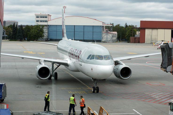 Qatar #dzendrus #plane #airplane #qatar #warsaw #lotnisko #airport #travel #traveling #podróże #travelblog #travelblogger #spotter