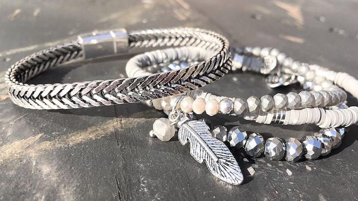 Musthave! De metalen BIBA armbanden. <3