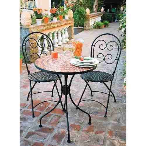 17 mejores ideas sobre sillas de hierro forjado en for Faroles en hierro forjado para jardin