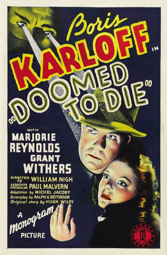 Art Artists Film Posters 1940s Movie Posters 1940s Part 1 Movie Posters Vintage Movie Posters Boris Karloff
