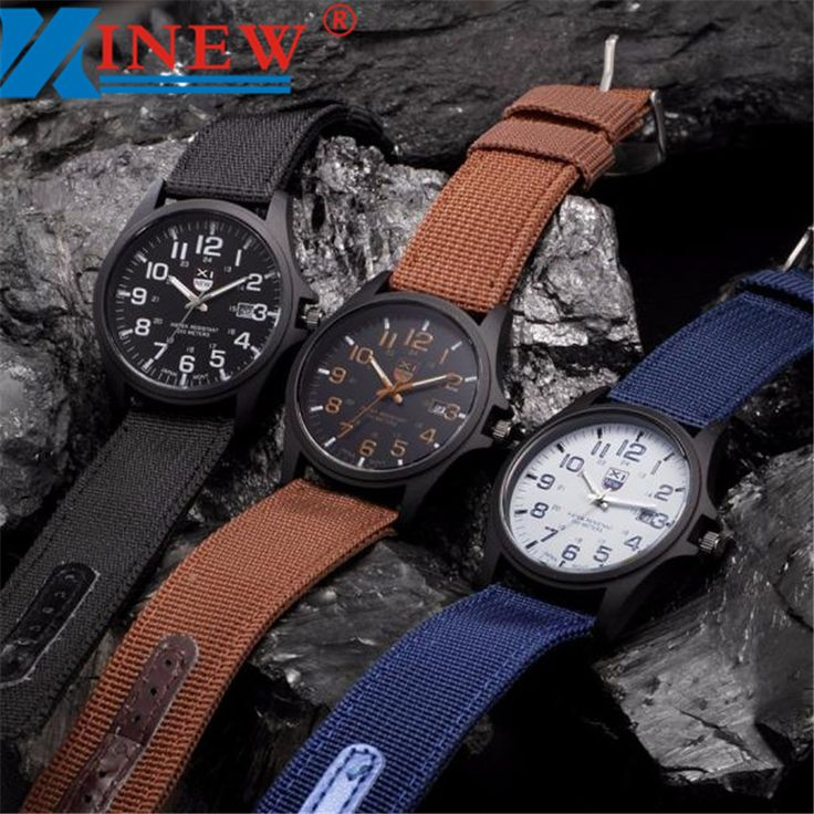 XINEW Men Watches 2016 Outdoor Business Famous Brand Watches Date Stainless Steel Military Sports Army Watch Relojes Hombre #>=#>=#>=#>=#> Click on the pin to check out discount price, color, size, shipping, etc. Save and like it!