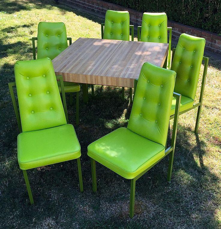 1972 Cal Style Furniture Mfg Dinette Set Spaceagemod Com