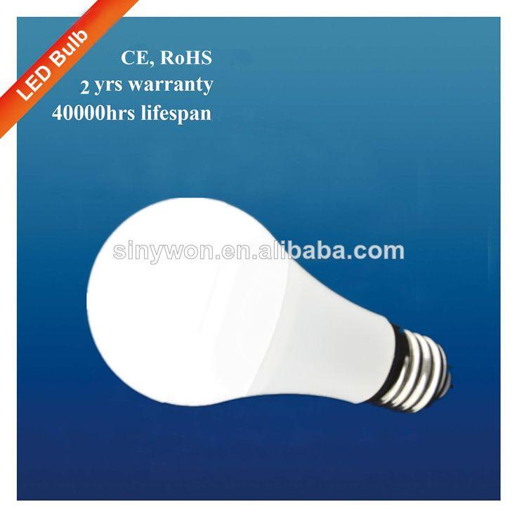 bombilla de plástico con precio barato 550lm 7w a60 bombilla led de luz-Luces de bulbo del LED-Identificación del producto:1925120544-spanis...