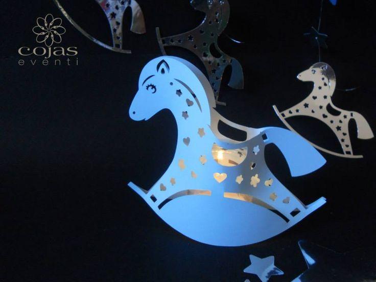 un delizioso cavallino a dodolo come porta candela, ideae per decorazioni tavoli party a tema https://www.facebook.com/pages/Cojas-Eventi-Wedding-Planner-Sardegna/192376730792148
