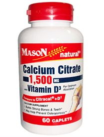 Calcio Citrato 1500mg con Vitamina D
