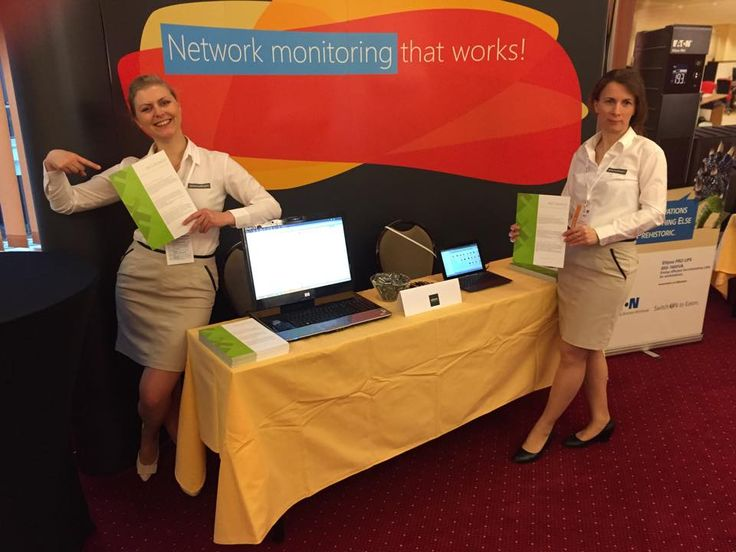 Iryna and Ela are manning the booth at GigaCon Katowice 2015! #networkmonitoring #sysadmin #netcrunch