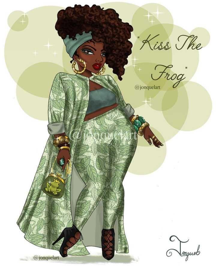 Princesas da Disney com corpo redesenhado e roupas modernas