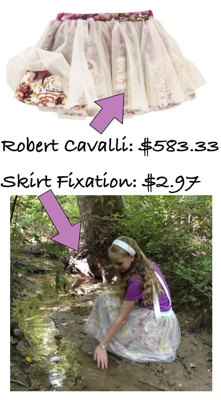 We saved $580 making this tulle skirt!