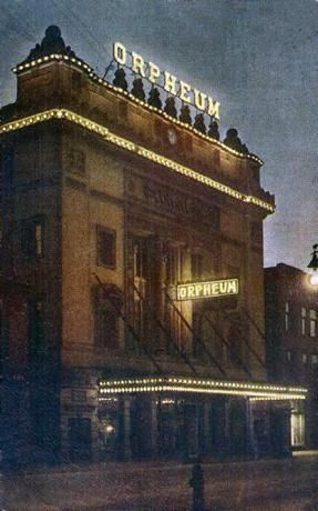The Orpheum Theater in downtown Sioux City Iowa. It is still there today and has been remodeled and brought back to life.