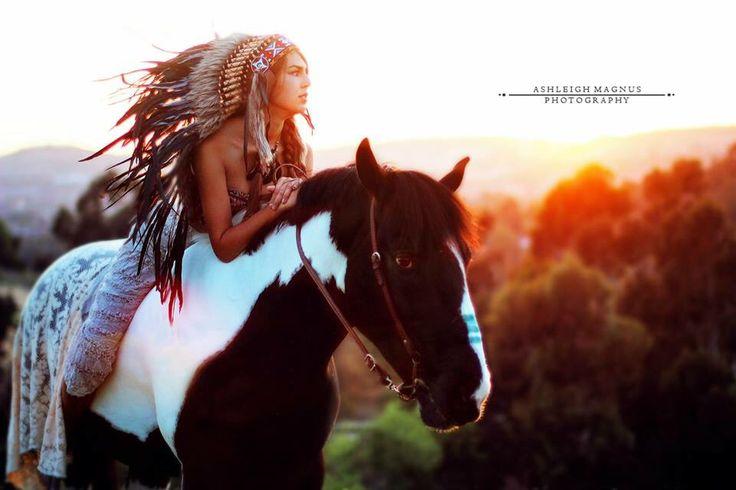 Indian horse photo shoot