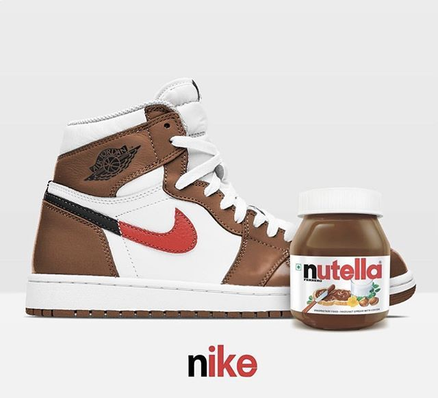 X Jordan Air Nutella 1In 2019 Nike TFJKcl1
