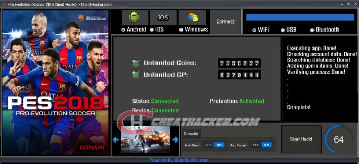 f4856fb38a5 Pin by CheatHacker on PES 18 Hack Coins-GP On Android iOS Without Survey