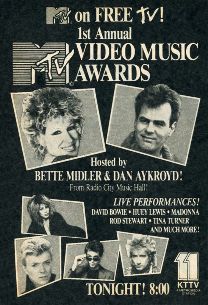 Mtv was the fist music program on tv. All the people can watch music video music films